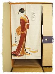 Noren Geisha Shamisen