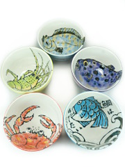 Bowl Set Umi Monogatari