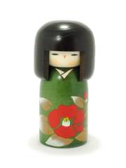 Kokeshi Verte Tsubaki no Sato