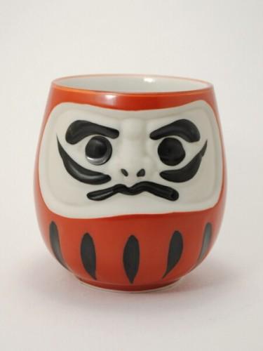 Tea Cup Aka Daruma
