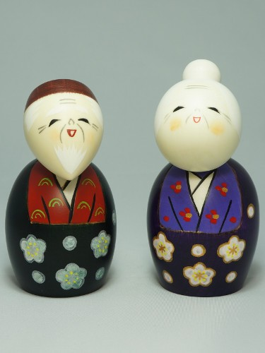 Kokeshi Couple