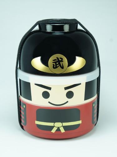 Boîte Bento Kokeshi Bushi Samouraï