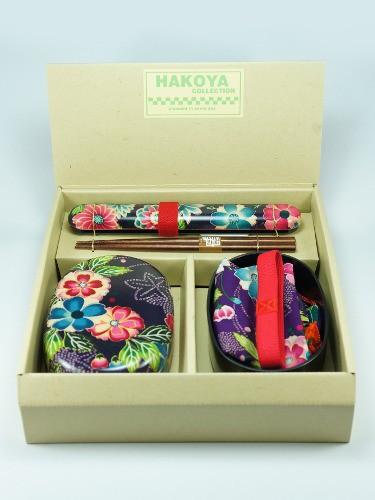 Bento Box Yuuzen Rakuen Murasaki
