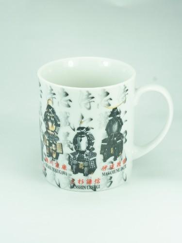 Mug Samurai Armors Yoroi