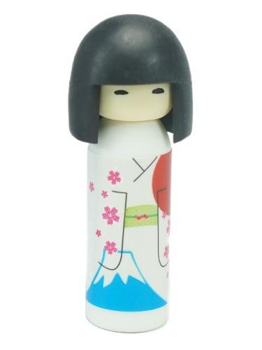 Blue Kokeshi Iwako Eraser
