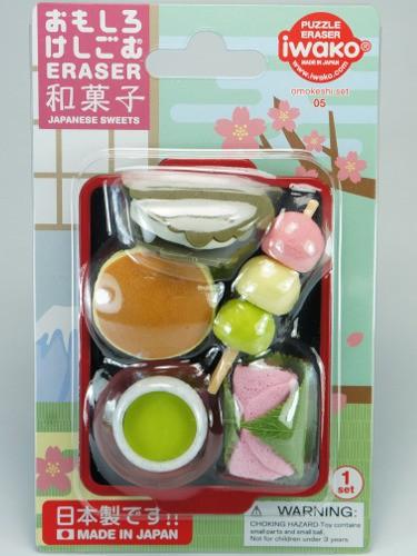 Gommes Iwako Desserts Japonais