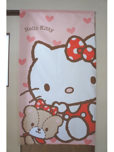 Noren Hello Kitty Coeur