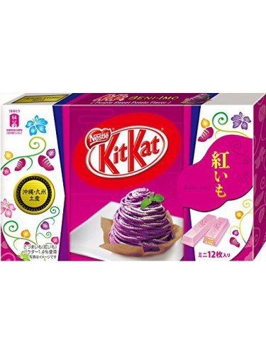 Kit Kat Patate douce violette