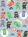 Autocollants Ninja