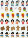 Japanese Legendary Hero Stickers