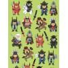 Samurai Stickers
