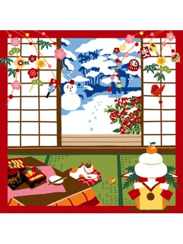 Furoshiki Peaceful Winter