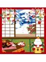 Furoshiki Winter Mike Neko