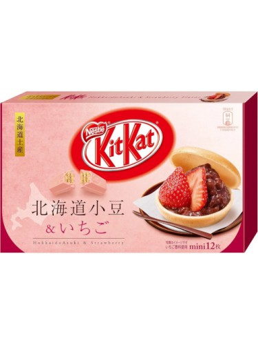 Kit Kat Hokkaido Azuki Fraise
