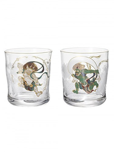 Fujin Raijin Glasses Set