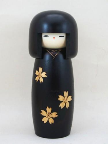 Kokeshi Sakura Noire