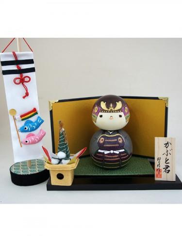Kokeshi Samurai Kabuto