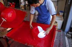 daruma making 2