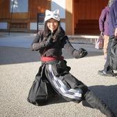 Foxy Ninja! 🐱🎌 #Japan #Japon #Ninja #Ninjutsu #Kitsune