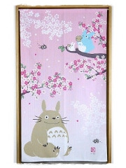 Noren Totoro Sakura