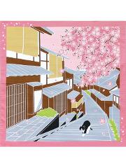 Furoshiki Sakura Sanpo