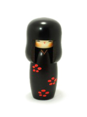 Kokeshi Black Shunsai