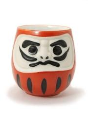 Tasse à thé Aka Daruma