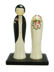 Kokeshi Wedding Couple
