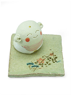 Jizou Incense Holder
