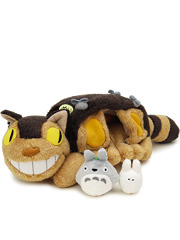 "Plush Catbus from ""My Neighbor Totoro"""